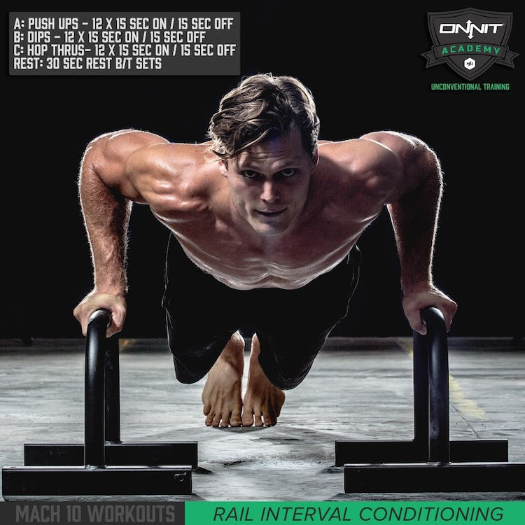 Quick Workout: 10 minute Bodyweight Interval Training
