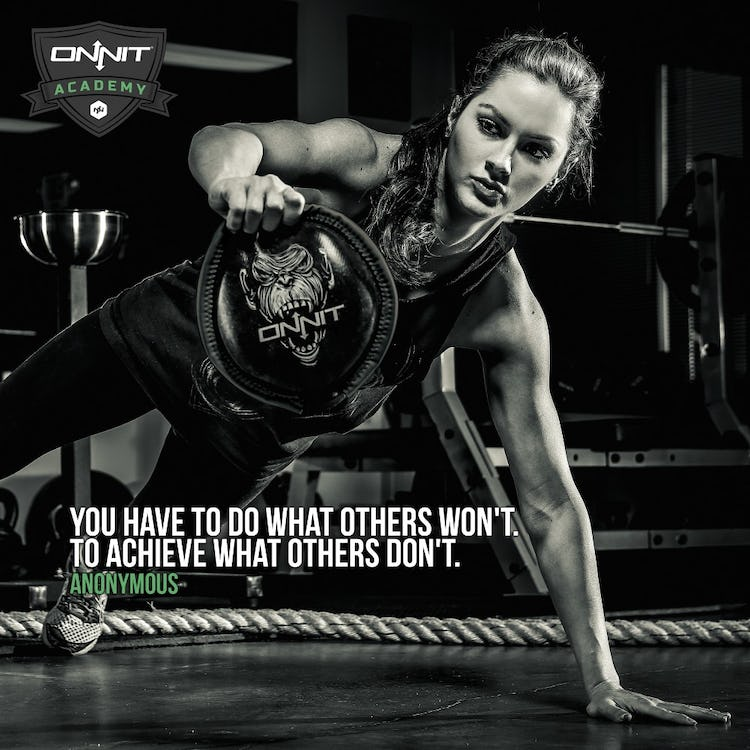 You have to do what others won't. To achieve what others don't. - Anonymous