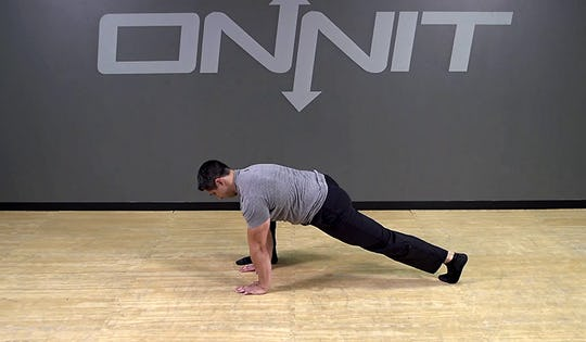 Hip Opening Mountain Climber Bodyweight Exercise