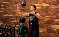 Kettlebell Grip Strength Juggling Workout