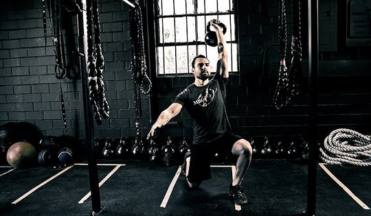 Full Body Kettlebell Workout for MMA Strength