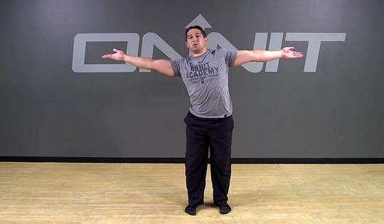 Alternating Arm Screw Bodyweight Exercise