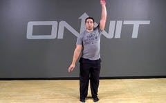 Backstroke Bodyweight Exercise