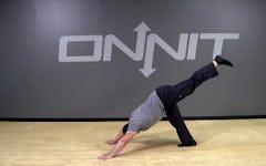 Alternating 3-Legged Dog Bodyweight Exercise