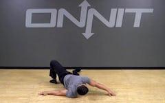 Alternating Floor Scorpion Bodyweight Exercise