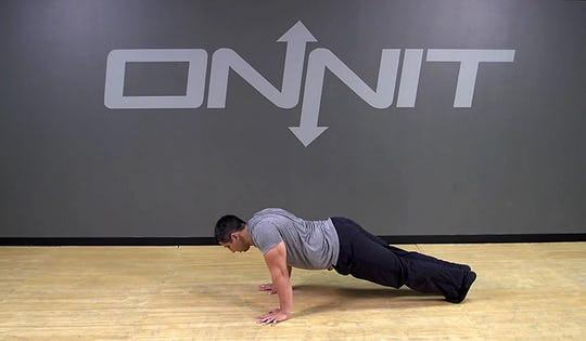 Scapular Push Up Bodyweight Exercise