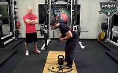 Defranco Fitness Tips: Kettlebell Swing with Westside for Skinny Bastards