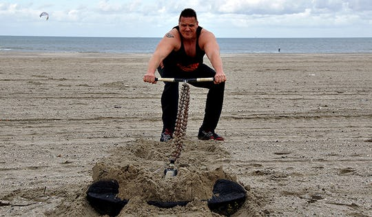 Unconventional Training at the Beach
