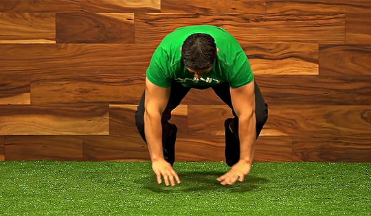 5 Bodyweight Exercises to Turn You into a Human Frogger