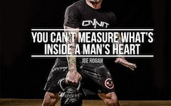 Workout Motivation: A Man's Heart