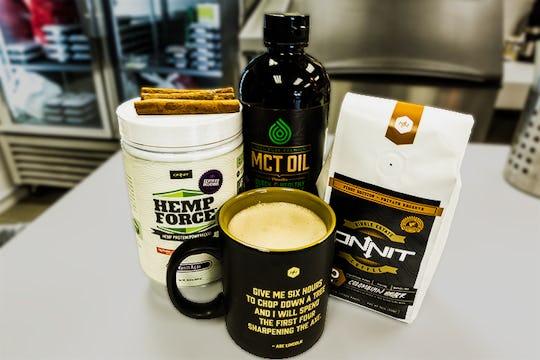 Onnit Cafe's Burn Fat-a-Latte Coffee Recipe