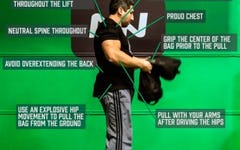 Form at a Glance: Sandbag Shouldering