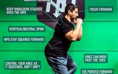 Form at a Glance: Skater Squat