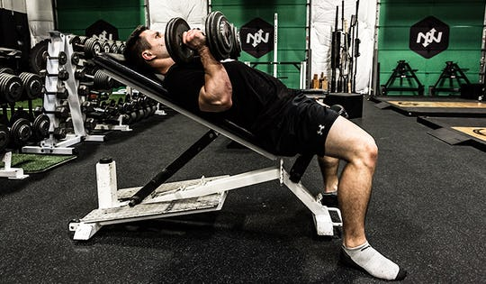 Strength Exercise #2: Incline Bench Press