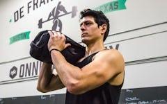 Rite of the Week: Sandbag Shouldering Squat