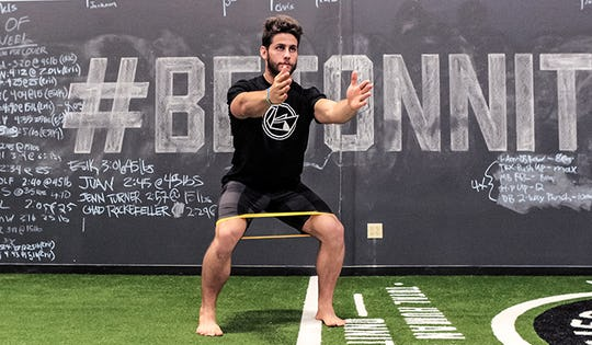 Resistance Band Exercise #3: Lateral Walks