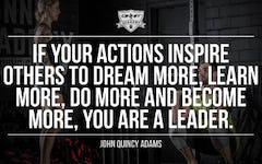 Workout Motivation: If Your Actions Inspire Others