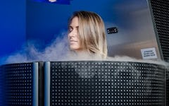 Austin gym offers cryotherapy to athletes.