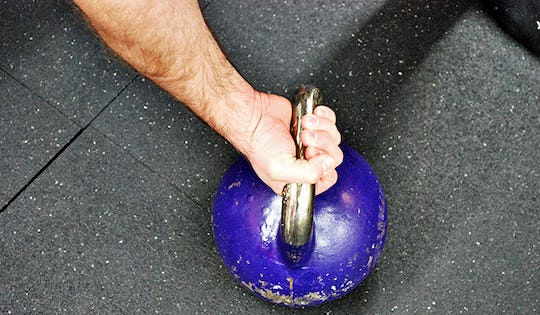 Bad Kettlebell Rack Handle Alignment