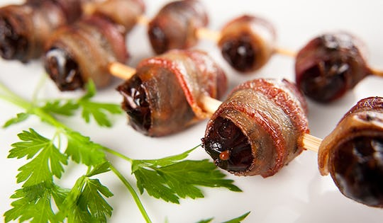 BACON-WRAPPED CHOCOLATE-STUFFED DATES