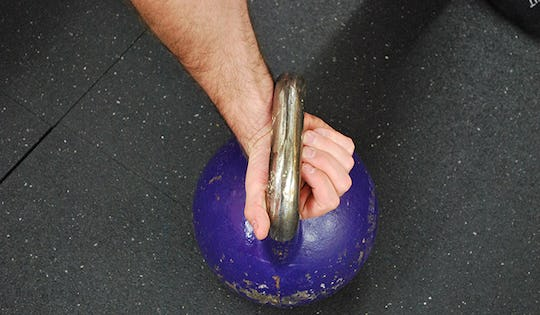 Good Kettlebell Rack Handle Alignment