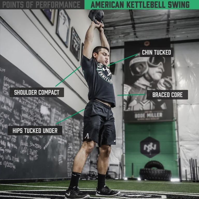 American Kettlebell SwingAmerican Kettlebell Swing