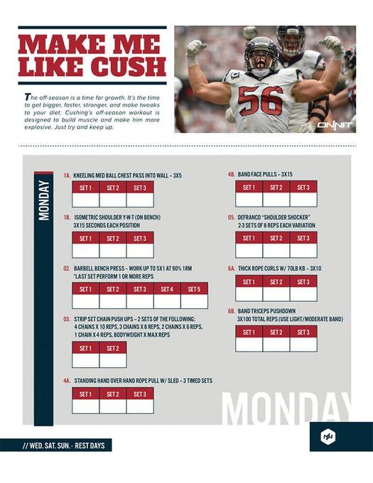 Train Like An NFL Linebacker: Brian Cushing Workout | Onnit Academy