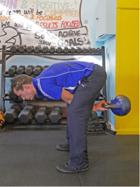 The Kettlebell Swing with Excessive Lumbar Flexion