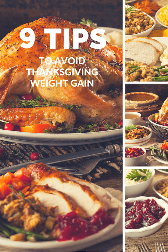 9 Tips To Avoid Thanksgiving Weight Gain