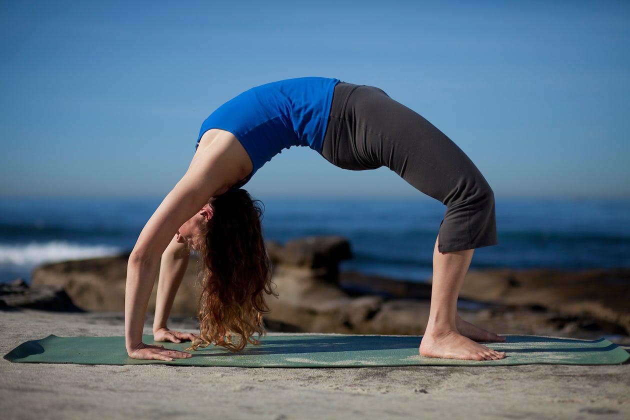 Back Bridge Bodyweight Exercises for gaining strength