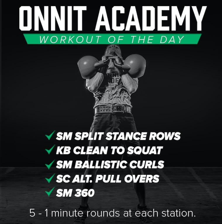 Onnit Academy Workout Of The Day #15