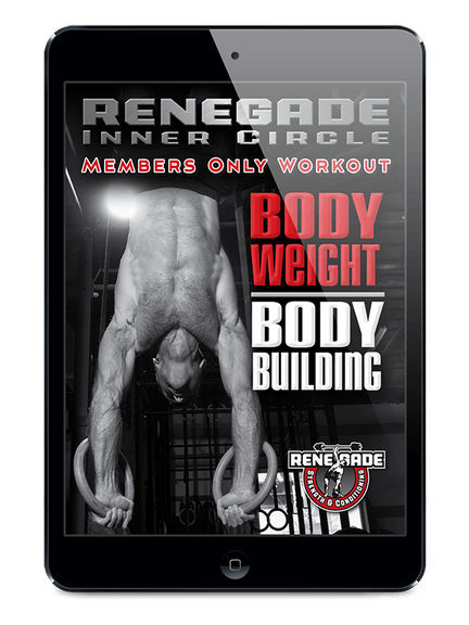 Bodyweight exercises need to be part of your program if you want to get jacked. But not just pushups, sit ups and high rep calisthenics. That's beginner stuff that won't build any real muscle. We're talking about really working hard on high tension, advanced bodyweight exercises that can only be done for somewhere between five and twelve reps, on average.