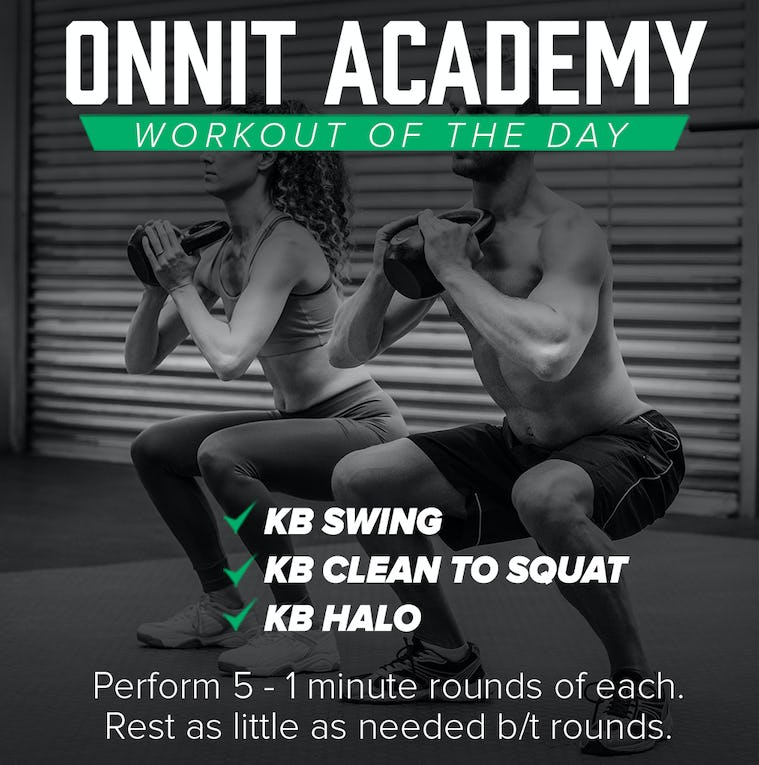 Onnit Academy Workout Of The Day #25