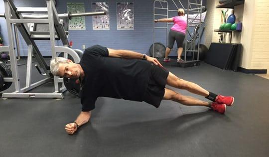 Basic Side Plank on Elbow