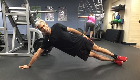 Side Plank With a Reach