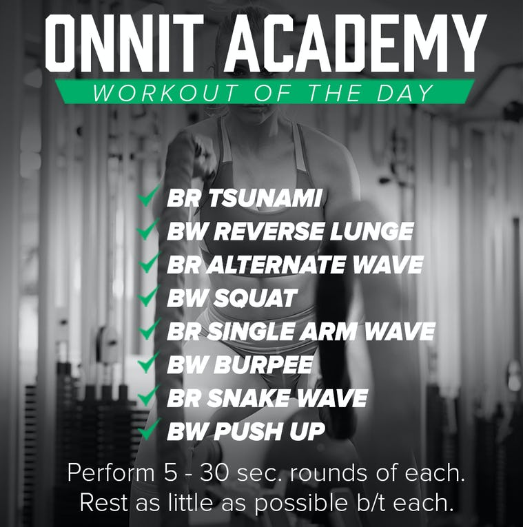 Onnit Academy Workout Of The Day #39