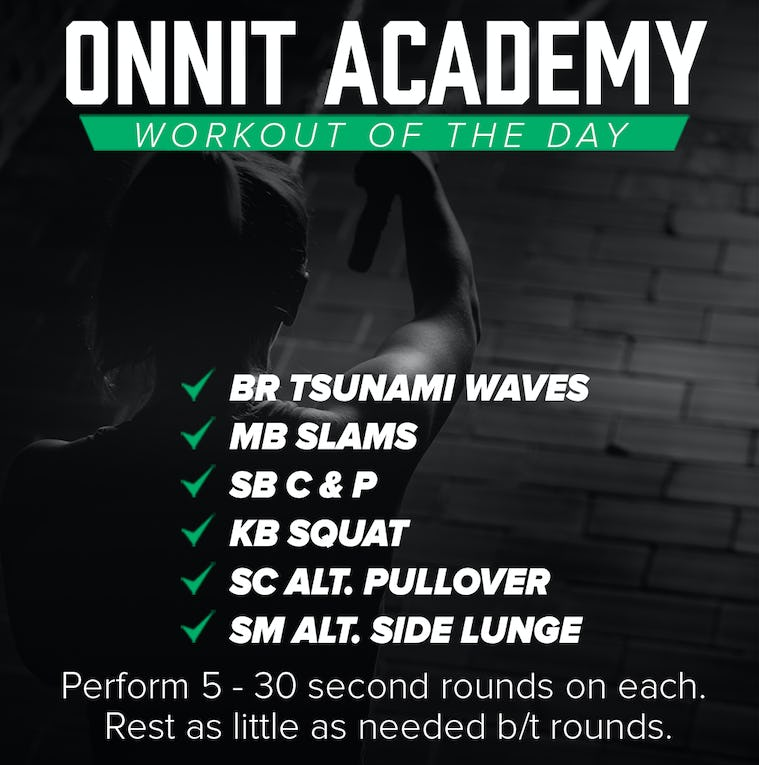 Onnit Academy Workout Of The Day #20
