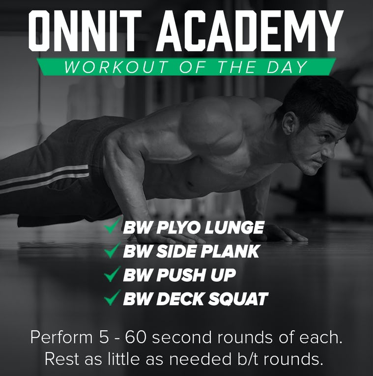 Onnit Academy Workout Of The Day #46