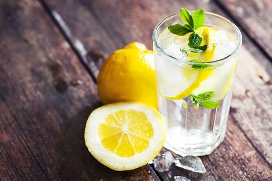 1. Drink Lemon Juice with Apple Cider Vinegar