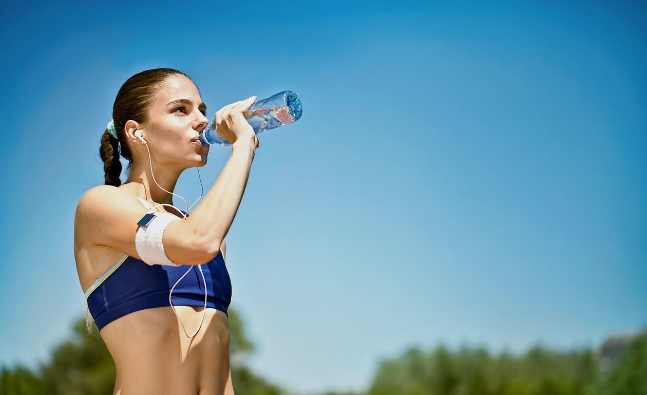 hydrate after a workout