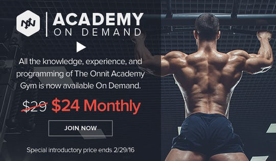 Onnit Academy On Demand