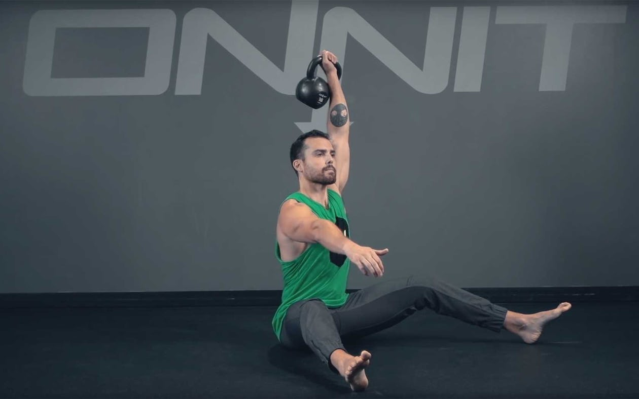 Single-Arm Kettlebell Press: How To Do It & Get Ripped