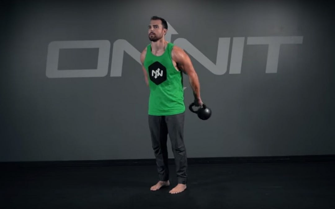 Kettlebell Around the Body Exercise