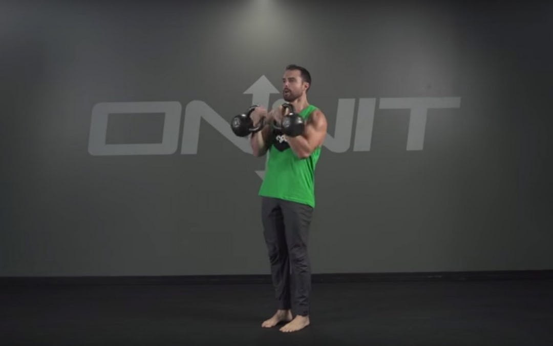 Double Kettlebell Outside Snatch Exercise