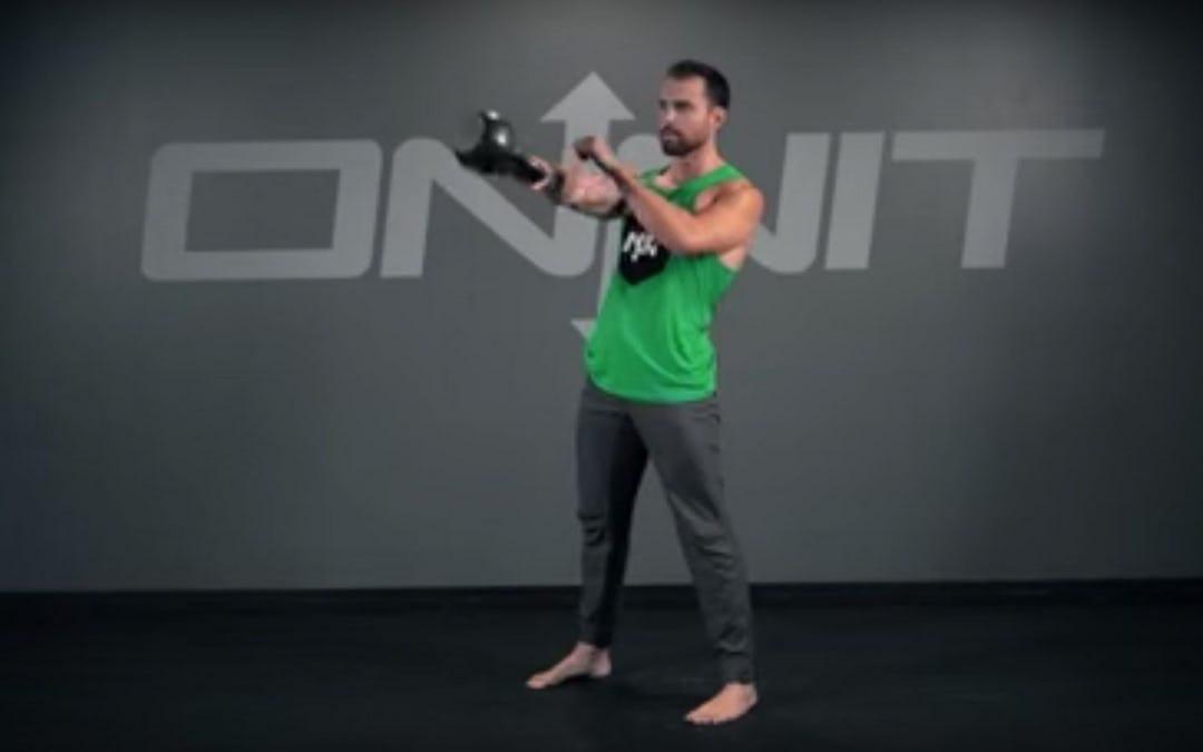 Kettlebell One Arm Rotational Swing Exercise