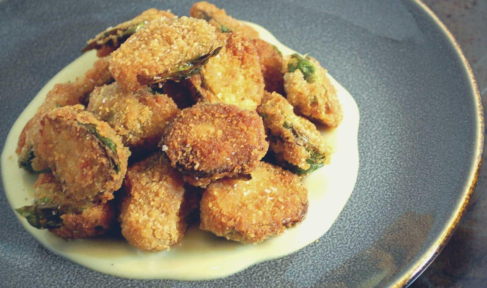 Appetizer: Buffalo Brussels Sprouts