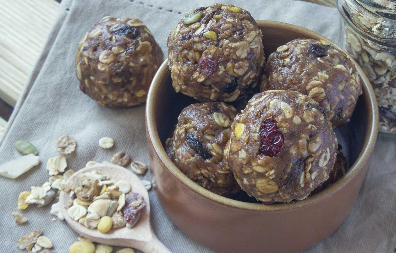 No-Bake Spiced Energy Balls