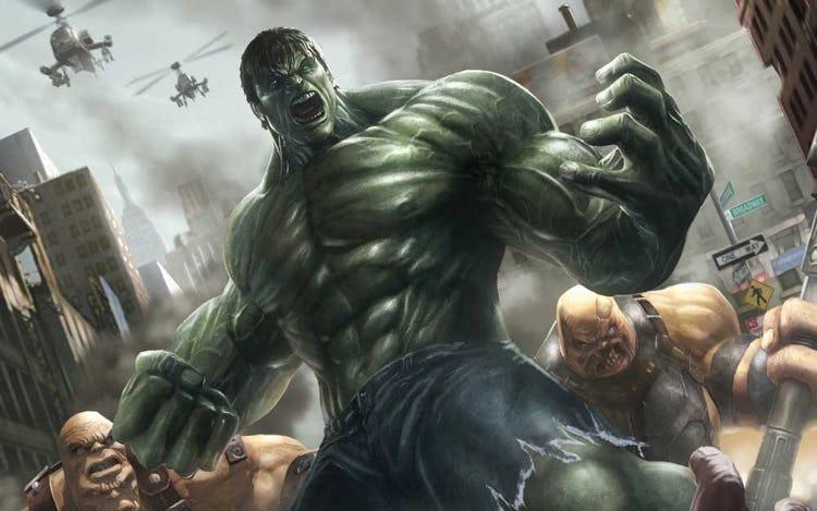 Superhero Workout Series: Build A Chest Like The Hulk