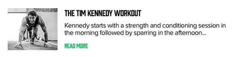 Tim Kennedy Workout