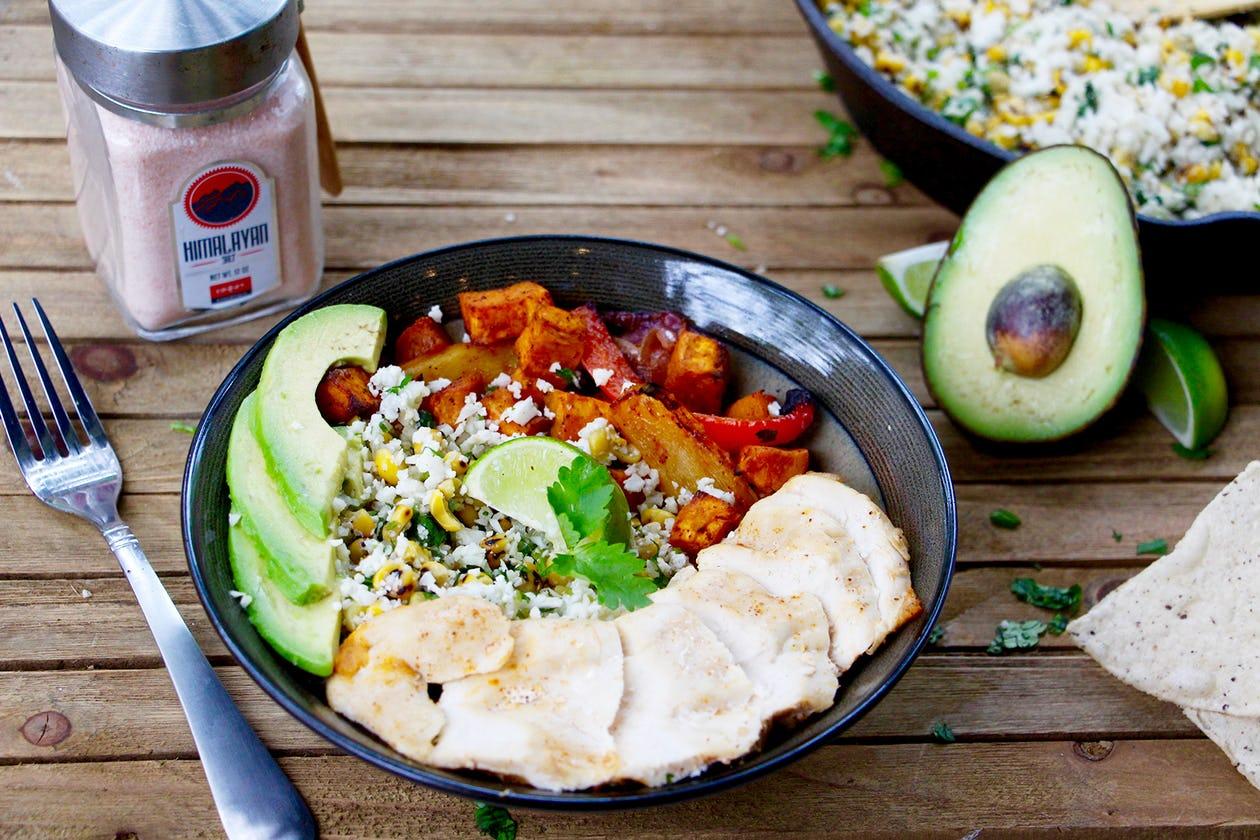 Paleo-Friendly Burrito Bowl Recipe